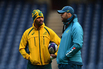 Michael Cheika Australia Captain's Run