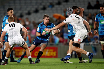 Michael Collins Super Rugby Rd 7 - Blues vs. Sharks