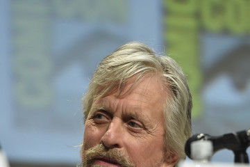 "Michael Douglas Marvel's Hall H Panel For ""Ant-Man"" And ""Avengers: Age Of Ultron"""