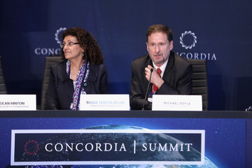 Michael Doyle 2016 Concordia Summit Convenes World Leaders to Discuss the Power of Partnerships - Day 2