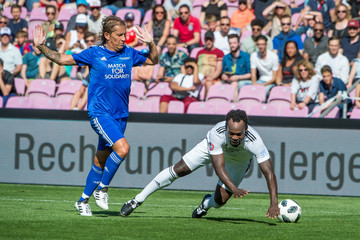 Michael Essien UEFA Match For Solidarity