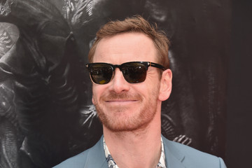 Michael Fassbender Sir Ridley Scott Celebrates His Hand and Footprint Ceremony