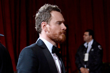 Michael Fassbender Stars Leave the Academy Awards