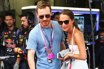 Michael Fassbender F1 Grand Prix of Monaco