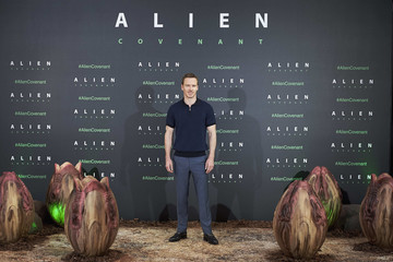 Michael Fassbender Michael Fassbender Attends 'Alien: Covenant' Photocall in Madrid