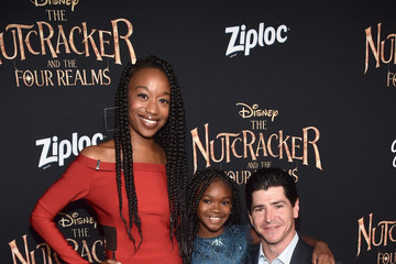 Michael Fishman Stars Of Disney's 'The Nutcracker And The Four Realms' Attend The World Premiere At Hollywood's El Capitan Theatre
