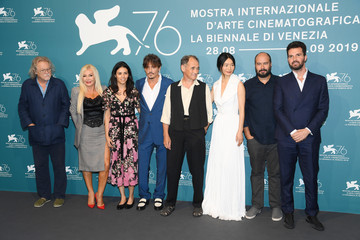 Michael Fitzgerald Ciro Guerra 'Waiting For The Barbarians' Photocall - The 76th Venice Film Festival