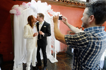 Michael Frey Same-Sex Couples Tie the Knot in Beverly Hills