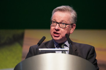 Michael Gove Farmers Union Holds Conference One Year Out From Brexit