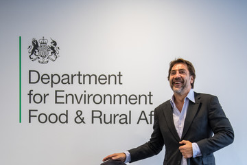 Michael Gove Actor Javier Bardem Meets Michael Gove To Discuss Protection Of The Antarctic Ocean