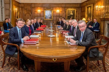 Michael Gove Brexit War Cabinet Away Day At Chequers