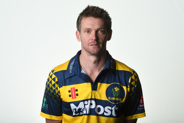 Michael Hogan Glamorgan CCC Photocall