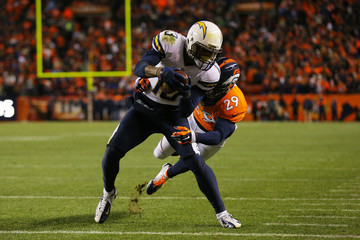 Michael Huff Divisional Playoffs - San Diego Chargers v Denver Broncos