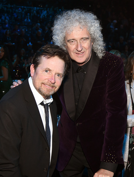 FOTOS GUAPAS Y ROCKERAS - Página 28 Michael+J+Fox+Brian+May+2019+Rock+Roll+Hall+TG7Tc-__GChl