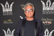 Giuseppe Zanotti attends the Michael Jackson diamond birthday celebration at ?Michael Jackson ONE by Cirque du Soleil? at the Mandalay Bay Resort and Casino on August 29, 2018 in Las Vegas, Nevada.