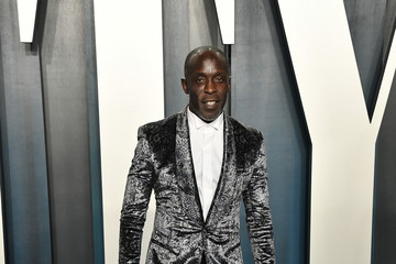 Michael K Williams 2020 Vanity Fair Oscar Party - Look Book