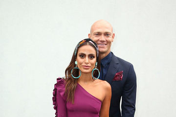 Michael Klim Celebrities Attend Melbourne Cup Day