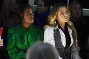 Issa Rae and Blake Lively attend the Michael Kors FW20 Runway Show on February 12, 2020 in New York City.