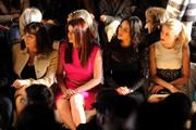 Debra Messing and Anjelica Huston Photos Photo