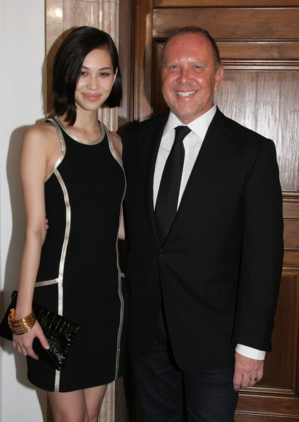 Michael Kors Celebrates American Fashion At The US Ambassadors Residence In Tokyo [photographs,suit,formal wear,clothing,tuxedo,little black dress,dress,fashion,cocktail dress,event,white-collar worker,michael kors,michael kors celebrates american fashion at the us ambassadors residence,kiko mizuhara,tokyo,japan,us ambassadors residence,michael kors celebration of american fashion]