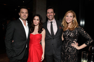 """Jon Hamm Jennifer Westfeldt Michael Kors And Vanity Fair's Krista Smith Along With Red Granite Pictures Toast The Cast Of """"Friends With Kids"""""""