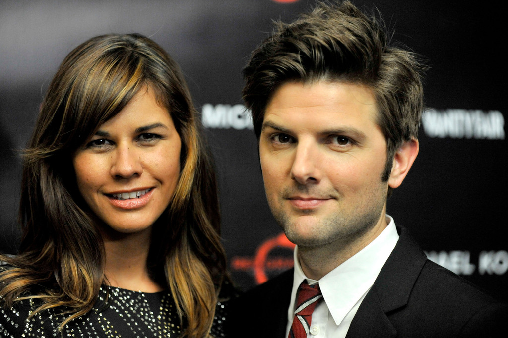 Adam Scott and Naomi Sablan Photos Photos - Michael Kors ...