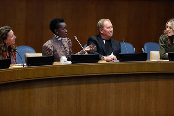 Michael Kors In Conversation With Michael Kors, Lupita Nyong'o, And The World Food Programme At UN Headquarters