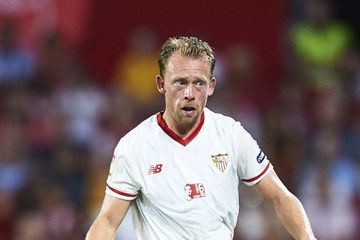 Michael Krohn-Dehli Sevilla FC v AS Roma - Pre Season Friendly