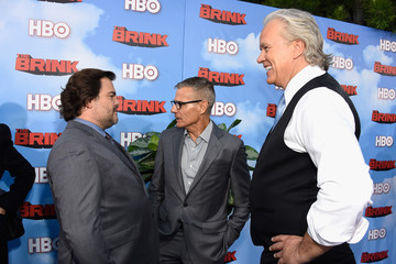 Michael Lombardo Premiere of HBO's 'The Brink' - Red Carpet
