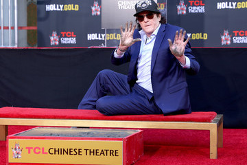 Michael Madsen Actor Michael Madsen Hand/Footprint Ceremony In Cement At TCL Chinese Theatre
