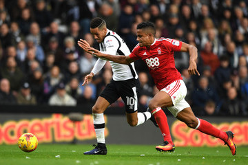 Michael Mancienne Derby County v Nottingham Forest - Sky Bet Championship