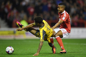 Michael Mancienne Nottingham Forest v Arsenal - EFL Cup Third Round
