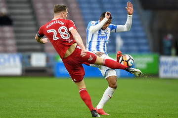 Michael Morrison Huddersfield Town v Birmingham City - The Emirates FA Cup Fourth Round