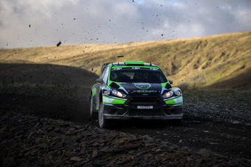 Michael Orr FIA World Rally Championship Great Britain - Day One