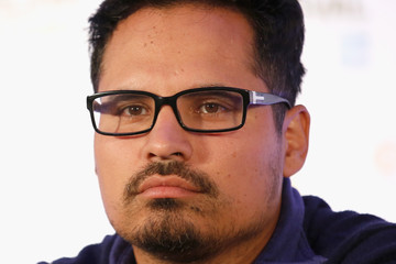 "Michael Pena ""Fury"" - Press Conference - 58th BFI London Film Festival"