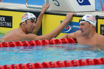 Michael Phelps Ryan Lochte 2014 Pan Pacific Championships: Day 4