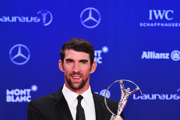 Michael Phelps Winners Press Conference and Photocalls - 2017 Laureus World Sports Awards - Monaco