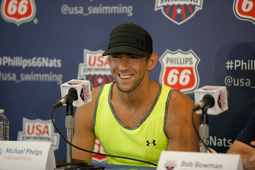 Michael Phelps Phillips 66 USA National Championships Press Conference