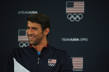 Michael Phelps 2016 Team USA Media Summit - Press Conferences