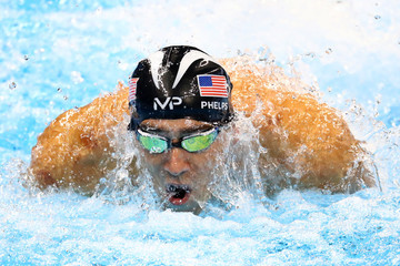 Michael Phelps Diving - Olympics: Day 7