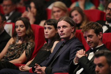 Michael Pitt Hommage To Edward Lachman - The 71st Annual Cannes Film Festival
