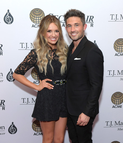 The T.J. Martell Foundation Nashville Best Cellars 2019 [little black dress,dress,fashion,cocktail dress,fashion accessory,style,carly pearce,michael ray,the t.j.,t.j.,martell foundation nashville best cellars,martell foundation nashville best cellars 2019,nashville,tennessee,loews vanderbilt hotel,event]