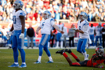 Michael Roberts Detroit Lions v Tampa Bay Buccaneers