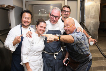 Michael Schwartz Cobaya Dinner Hosted By Andrew Zimmern, Chris Cosentino, Michael Schwartz, Makoto Okuwa And Nicolay Adinaguev - 2015 Food Network & Cooking Channel South Beach Wine & Food