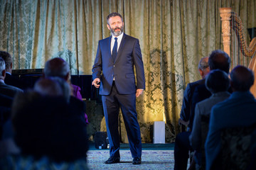 Michael Sheen The Prince of Wales Visits Wales - Day 2