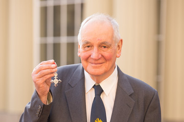 Michael Slater Investitures Held at Buckingham Palace