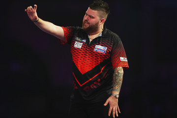 Michael Smith 2018 William Hill PDC World Darts Championships - Day Ten