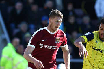 Michael Smith Northampton Town v Oxford United - Sky Bet League One
