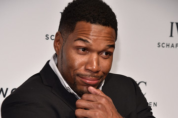 Michael Strahan 4th Annual IWC Schaffhausen 'For The Love of Cinema' Dinner