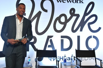 Michael Strahan iHeartMedia and WeWork's 'Work Radio' Launch Party